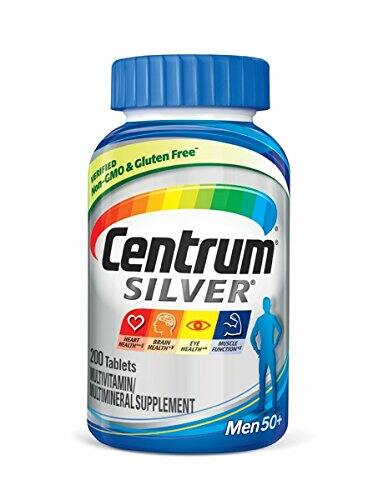 Centrum Silver Men Multivitamin / Multimineral Supplement Tablet, Vitamin D3, Age 50+ (200 Count) $10.93 S&S@amazon