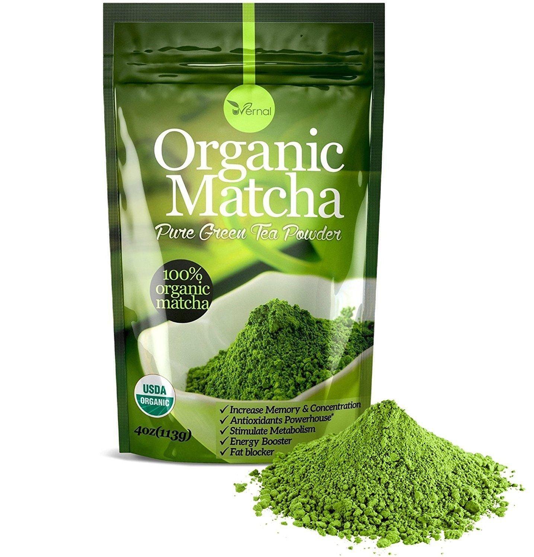 Organic matcha green tea powder - 100% pure matcha 4oz 50% off a/c $9.99 shipped amazon prime