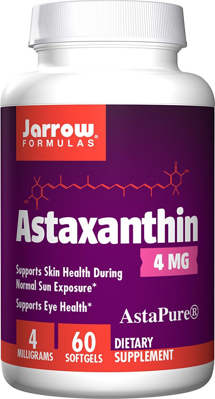 Jarrow Formulas Astaxanthin, Supports Eye Health, 4 mg,60 Softgels $9.38