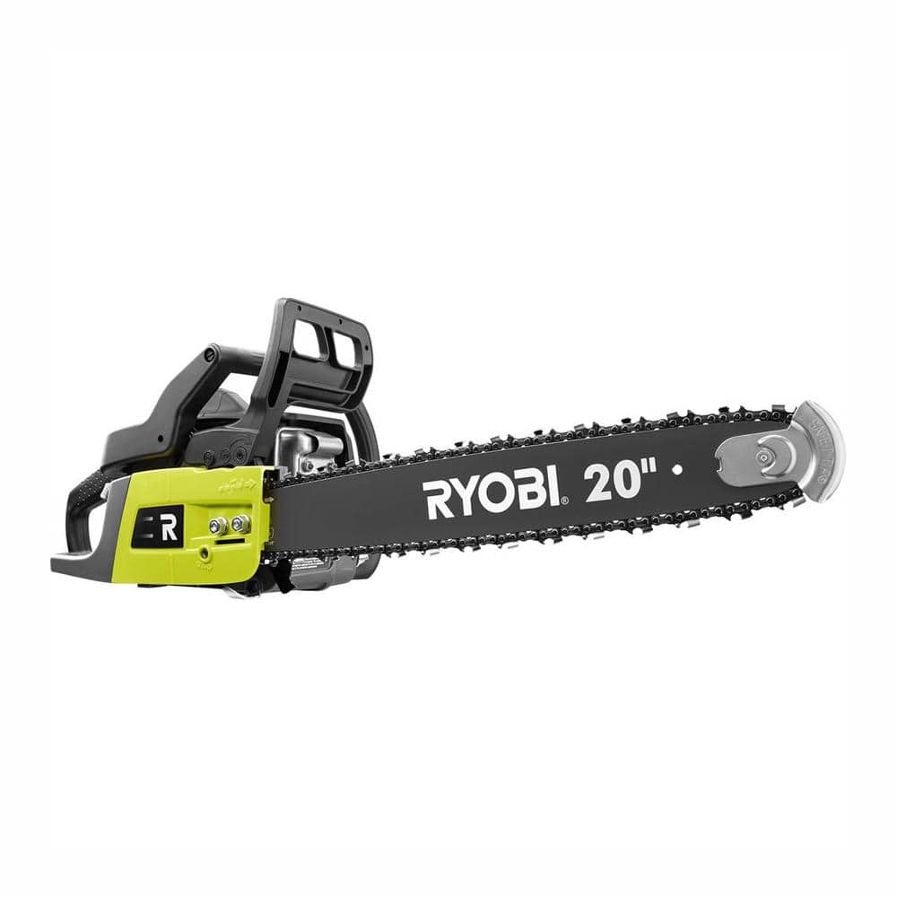 Ryobi 20 in. 50 cc 2-Cycle Gas Chainsaw with Heavy-Duty Case $149