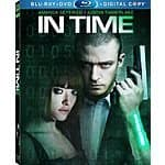 In Time (Blu-ray + DVD + Digital copy) $4.99 at amazon/best buy