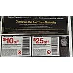 $10 off $50 and $25 off $100 your Star Wars purchase at target starting 9/4 for Force Friday.