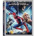 The Amazing Spider-Man 2 (3D/Blu-Ray/DVD/UltraViolet Combo Pack) $14.99 at Amazon/Best Buy