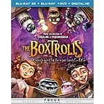 The Boxtrolls (Blu-ray 3D + Blu-ray + DVD + DIGITAL HD) $19.99 at amazon/Best Buy