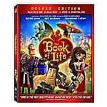 The Book of Life (Blu-ray 3D/Blu-ray/DVD/Digital HD) $19.99 at amazon/Best Buy