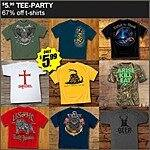 $5.99 Military and America Themed T-shirts at Field Supply
