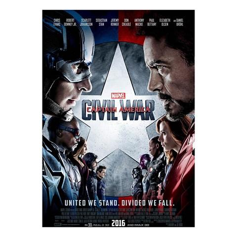 Marvel's Captain America: Civil War (3D/Blu-ray/DVD/Digital HD) + Free $5 Gift Card $27.99 Pre-Order at Target