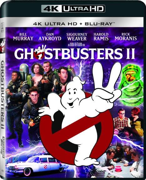 Ghostbusters II Pre-Order (4K Ultra HD + Blu-ray)  $9 + Free Store Pickup