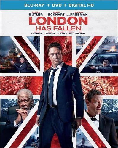 London Has Fallen (Blu-ray DVD Digital HD) $9.99 at Amazon (also includes free additional select UV title)