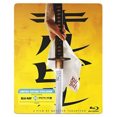 Kill Bill Vol. 1 Blu-ray Steelbook + Digital HD $3.74 via Walmart Third Party