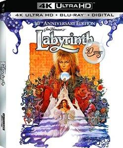 Labyrinth 30th Anniversary (4K Ultra HD + Blu-ray + UltraViolet) $19.30 at Amazon and Walmart