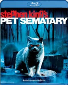 Pet Sematary Blu-ray $5.00 at Amazon, Best Buy and Walmart