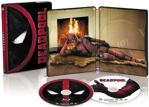 Deadpool, Spectre, The Martian, The Revenant and Kingsman (Blu-ray/Digital HD) Best Buy Exclusive Steelbooks $17.99 at Best Buy