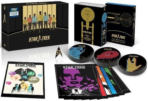 Star Trek: 50th Anniversary TV and Movie Collection Best Buy Exclusive Blu-ray Set $79.99