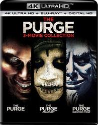 The Purge: 3-Movie Collection (4K Ultra HD + Blu-ray + Digital HD) $25.61 at Walmart B+M and Amazon