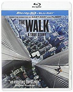 The Walk (Blu-ray 3D + Blu-ray + UV) $11.00 via Amazon Third Party