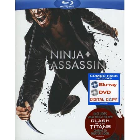 Ninja Assassin (Blu-ray + DVD) $4.88 at Walmart