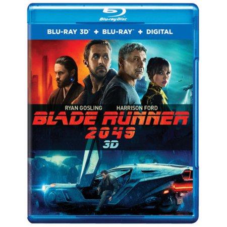 Blade Runner 2049 (Blu-ray 3D + Blu-ray + Digital) $20.08 at Walmart B+M