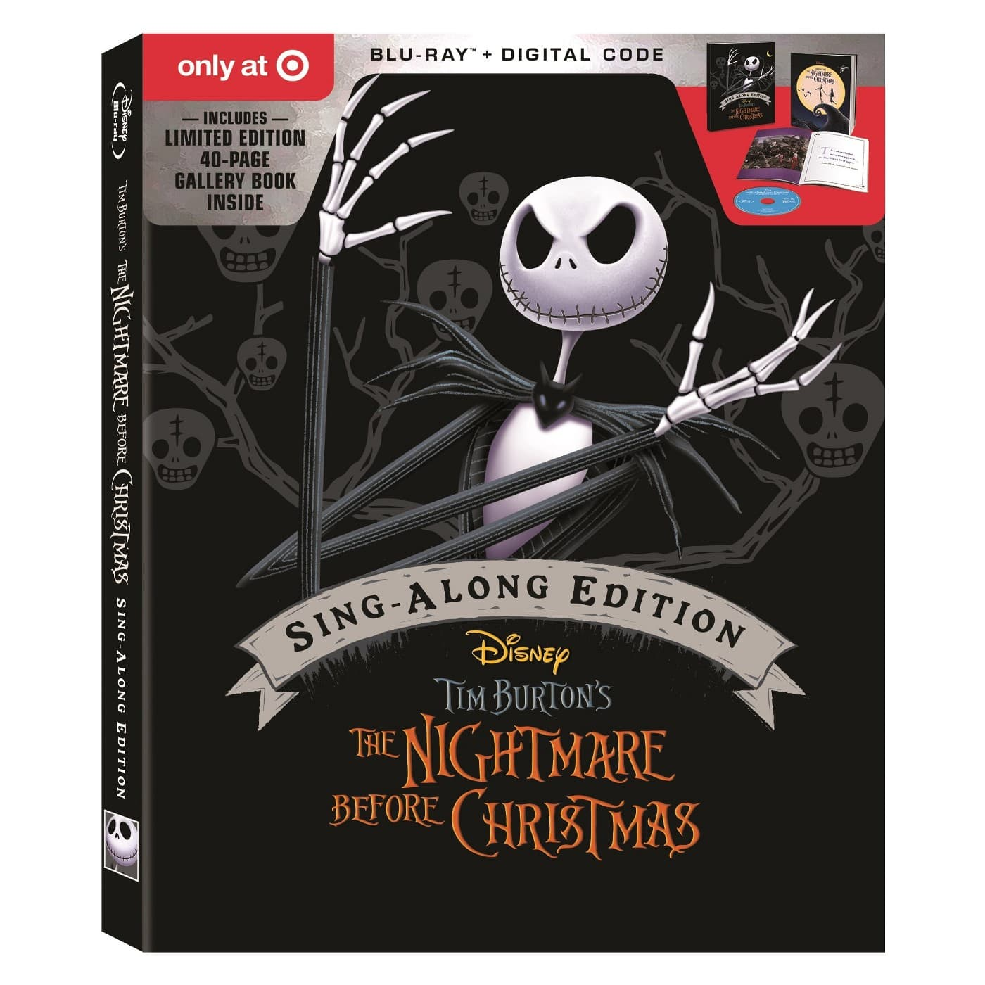 Target REDcard: The Nightmare Before Christmas Pre-Order (Blu-Ray ...