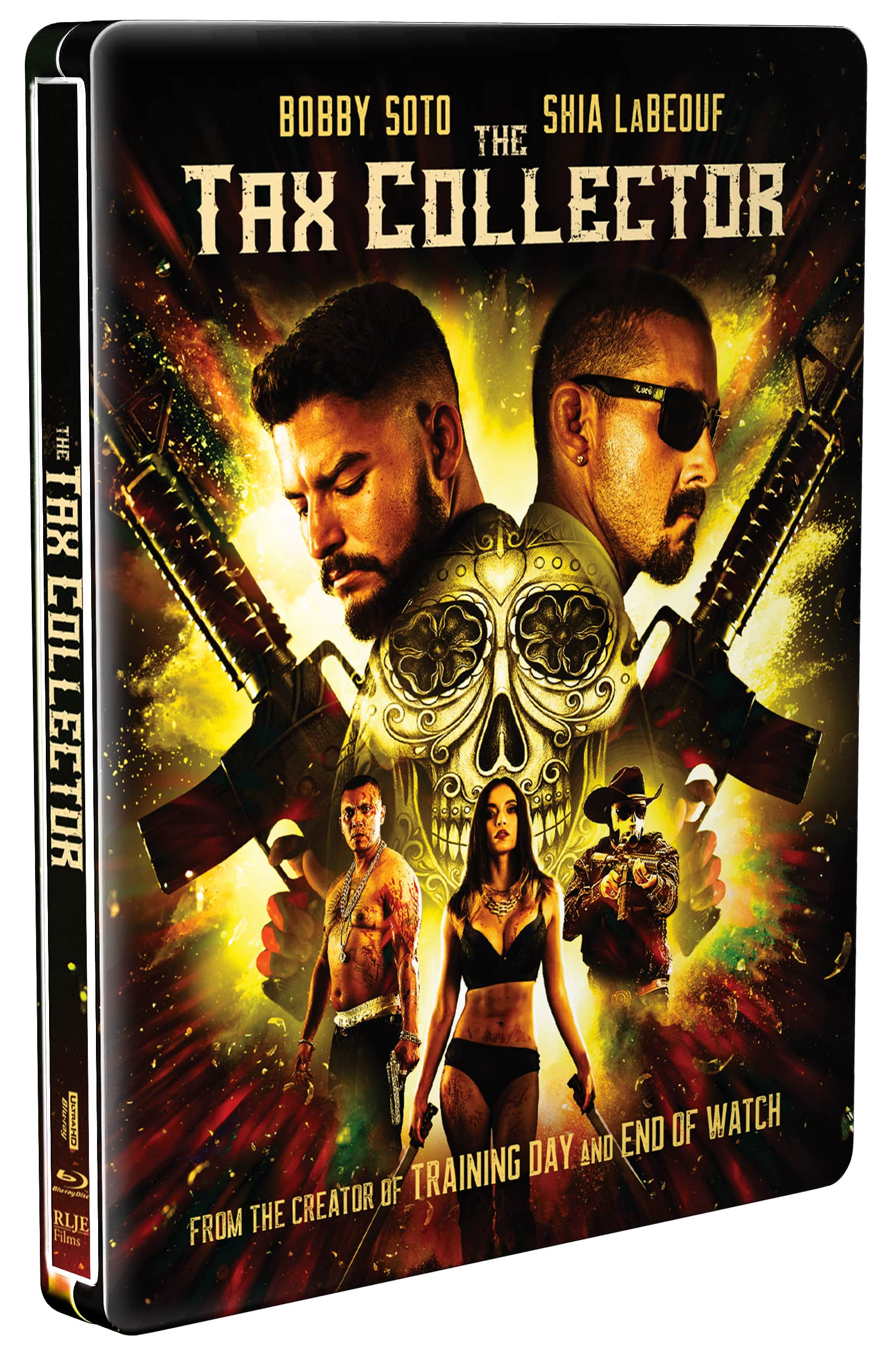 The Tax Collector Steelbook (4K Ultra HD + Blu-ray) $12.99 at Best Buy