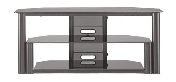 "Insignia™ - TV Stand for Flat-Panel TVs Up to 60"" - Black $40 + FS @ Best Buy"