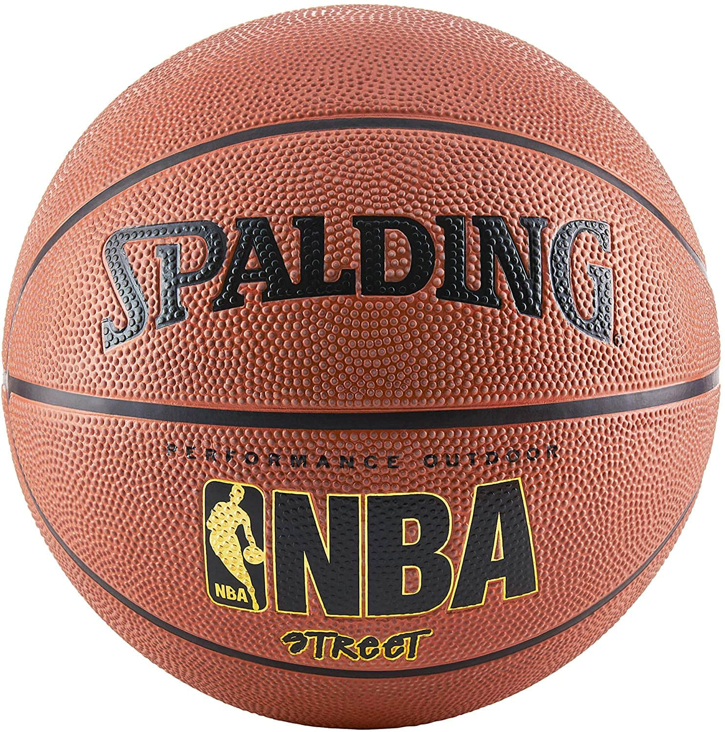 """Spalding NBA Street Outdoor Basketball (29.5"""", Official Size 7) $8.10 + Free S&H w/ Prime or orders $25+ ~ Amazon"""
