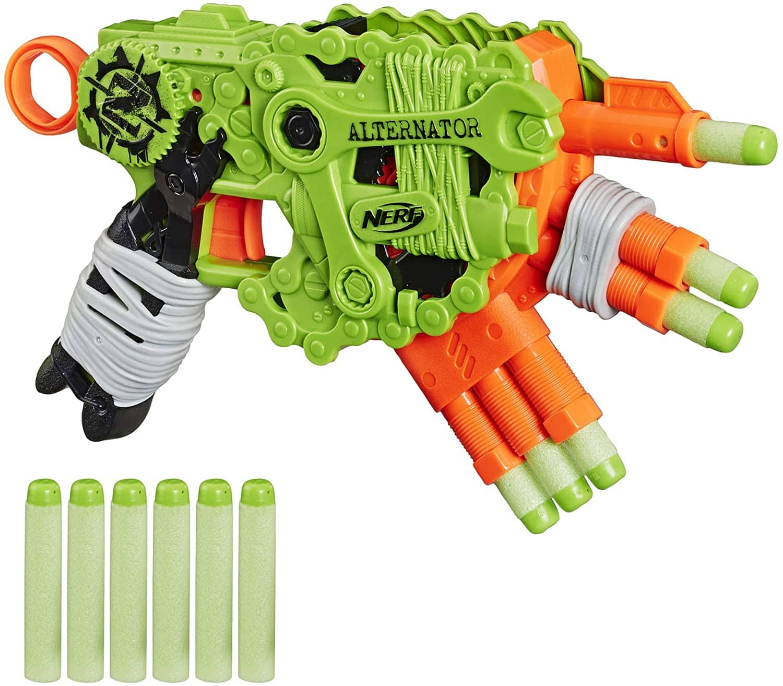 NERF Zombie Strike Alternator Blaster w/ 12 Elite Darts $9.74 + Free S&H w/ Prime or orders $25+ ~ Amazon