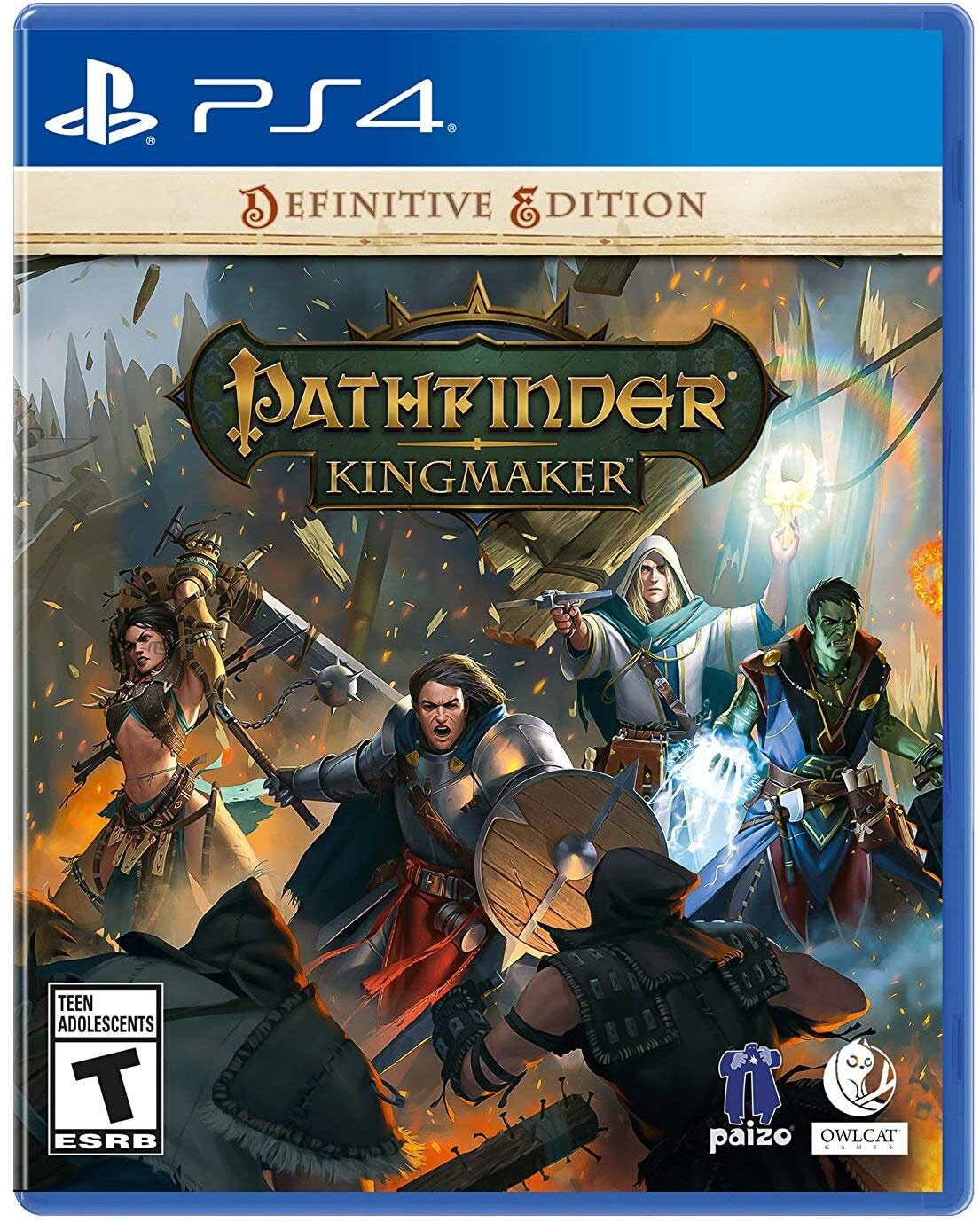 Pathfinder: Kingmaker Definitive Edition (PS4) $19.99 ~ Amazon or Best Buy