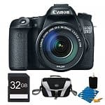 Canon 70D DSLR Camera + 18-135mm Lens + Pixma Pro-100 Printer & More