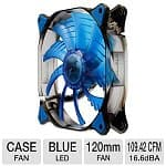 Cougar Vortex 120mm Hydraulic Bearing Blue LED Case Fan