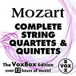 Mozart: Complete String Quartets & Quintets: VoxBox Edition (MP3 Album Download)