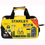 38-Piece Stanley Homeowners Tools Set in Bag $9.96 + Free Store Pickup ~ Sears