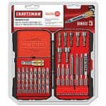 54-Piece Craftsman Driving Set $10.96 + Free Store Pickup ~ Sears