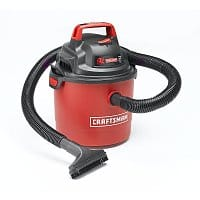Sears Deal: Craftsman Portable 2.5 Gallon 2-Peak HP Wall Mount Wet/Dry Vac