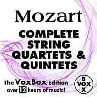 Amazon Deal: Mozart: Complete String Quartets & Quintets: VoxBox Edition (MP3 Album Download)
