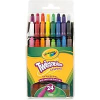 Walmart Deal: 24-Pack Crayola Mini-Twistables Crayons
