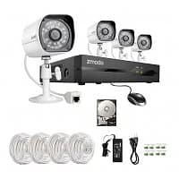 Best Buy Deal: Zmodo 4-Channel 1TB Security System + 4 Day/Night 720P IP Cameras