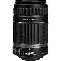 Shop Canon USA Deal: Canon Refurbished Lenses: 55-250mm IS II $85, 75-300mm