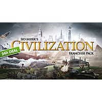 Green Man Gaming Deal: Sid Meier's Civilization Franchise Pack (PC Digital Download)
