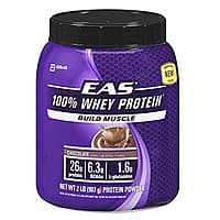 Amazon Deal: 2lbs. EAS 100% Whey Protein (Chocolate or Vanilla)