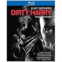 Amazon Deal: Dirty Harry: 5-Film Collection (Blu-ray)