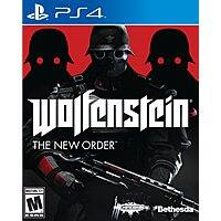 Amazon Deal: Wolfenstein: The New Order (PS4, Xbox One, Xbox 360, PS3 or PC)