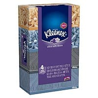 Target Deal: 2x 4-Pack 120-Ct Kleenex Ultra Soft Facial Tissues + $5 Target Gift Card
