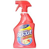Amazon Deal: 32oz Resolve Professional Spot and Stain Carpet Cleaner