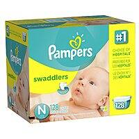 Amazon Deal: Select Boxes of Pampers Diapers + $15 Amazon Gift Card