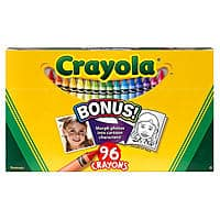 Kmart Deal: 96-Count Crayola Crayons w/ Built-In Sharpener