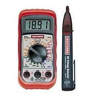 Kmart Deal: Craftsman Digital Multimeter with AC Voltage Detector $13.49 + Free Store Pickup ~ Kmart