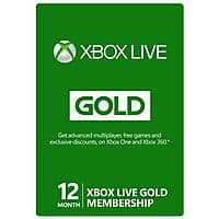Newegg Deal: 12-Month Microsoft Xbox Live Gold Membership (Digital Delivery)