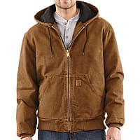 Sierra Trading Post Deal: Carhartt Men's Sandstone Active Jacket in various colors (2nds)