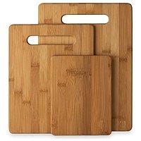 "Rakuten (Buy.com) Deal: 3-Piece Eco Friendly Bamboo Cutting Board Set (6""x 8"", 8-1/2""x 11"" & 9-1/2""x 13"") $9.25 + Free Shipping (New Customers Only)"